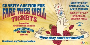 Tickets Released For Fare Thee Well: Via Ebay To Benefit Charities