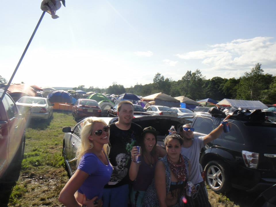 Campsite living at Bisco 12.