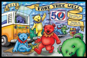 Postcard Giveaway at Grateful Dead 50th Anniversary Concerts Aims to Spur 10,000 Socially-Conscious Actions