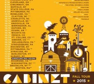 Cabinet Fall Tour 2015