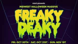 Ticket Giveaway! Win 2 Tickets To Freaky Deaky Halloween Massive in Chicago