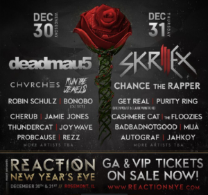 React Presents: Reaction NYE 2k16