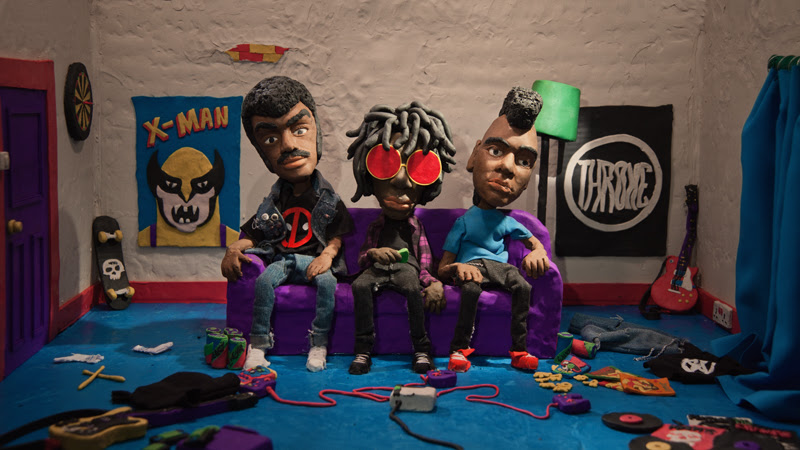 "Radkey Release Incredible New Face-melting Claymation Video For ""Glore"""