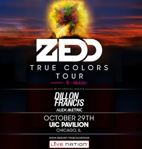 Win 2 Tickets to Dillon Francis and Zedd in Chicago Oct 29th