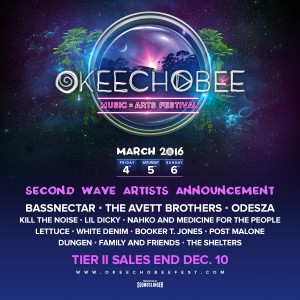 Okeechobee Music and Arts Festival 2016 Shocks with Second Phase Lineup