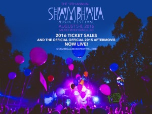 The Shambhala After Movie and Ticket Updates