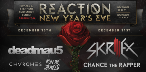 Win Tickets to Reaction NYE